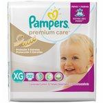 Fralda Pampers Premium Care Tamanho Xg C/32 Pacote Mega