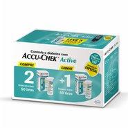 Tiras Reagentes Accu-chek Active Com 50 Unidades Leve 3 Pague 2