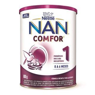Nestlé Nan Comfor 1 Fórmula Infantil Lata 800g