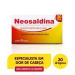Neosaldina C/ 30 Drágeas