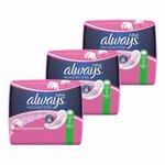 Kit Absorvente Always Pink Com Abas C/8 - Leve 3 Pague 2