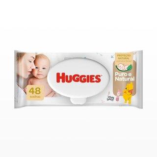 Lenços Umedecidos Huggies Pure Care Com 48 Unidades