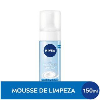 Mousse De Limpeza Nivea 150ml