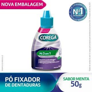 Fixador De Dentadura Corega Pó Low Cost 50g