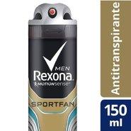 Desodorante Aerosol Rexona Men Sportfan 90g