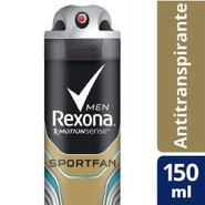 Desodorante Rexona Men Sportfan Aerossol 90g