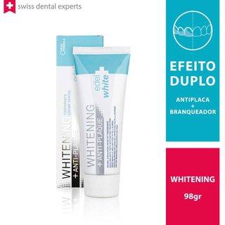 Creme Dental Antiplaca + Branqueador Edel+white 75ml