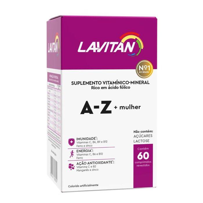 397829c107adc Lavitan Mulher 60 Drágeas - PanVel Farmácias