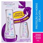 Kit Dermacyd Delicata 200ml + 1,99  100ml