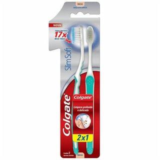 Escova Dental Colgate Slim Soft Leve 2 Pague 1