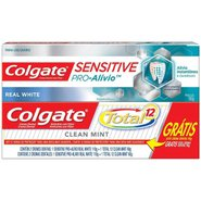 Creme Dental Colgate Sensitive Pro Alivio - Gratis Colgate Total 12