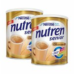 Nutren Senior Café Com Leite 370g - 20% de desconto na segunda unidade