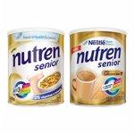 Nutren Senior Sem Sabor 370g - 20% de desconto na segunda unidade de Nutren Senior Café Com Leite