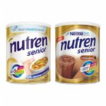 Nutren Senior Sem Sabor 370g - 20% de desconto na segunda unidade de Nutren Senior Chocolate