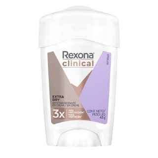 Desodorante Rexona Clinical Women Extra Dry Stick 48g