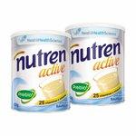 Nestlé Nutren Active Baunilha Complemento Alimentar Lata 400g - Ganhe 25% na segunda unidade