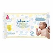Lenços Umedecidos Johnson's Baby Recém Nascido 48 Unidades