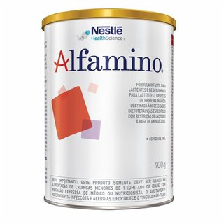 Nestlé Alfamino Fórmula Infantil Lata 400g