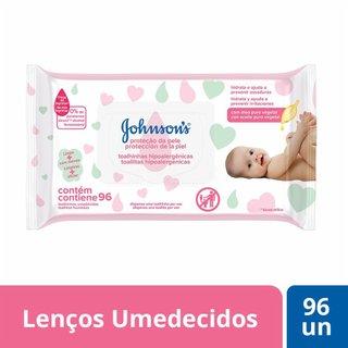 Lencos Umedecidos Johnson's Baby E. Cuidado C/96