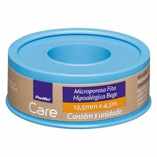 Fita Microporosa Bege Panvel Care 12,5mmx4,5m