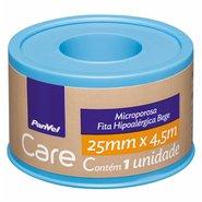 Fita Microporosa Hipoalergencia Bege Panvel Care 25mmx4,5m