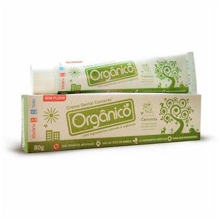 Creme Dental Contente Orgânico 80g