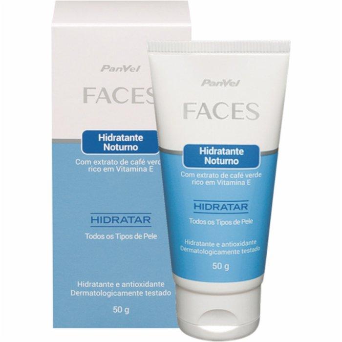 Hidratante Noturno Panvel Faces 50g - PanVel Farmácias d15099a263