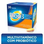 Bion3 Multivitaminico Com Probioticos Com 30 Tabletes