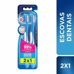 Escova Dental Oral-B Pro-Saude 7 Beneficios 35 Leve 2 Pague 1