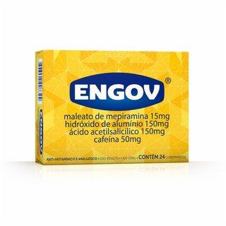 Engov 24 Comprimidos