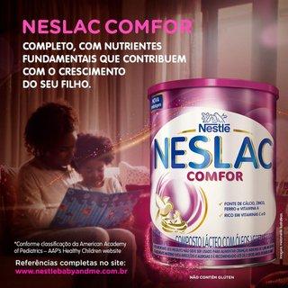 Composto Lácteo Nestlé Neslac Comfor Lata 800g