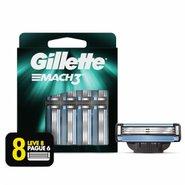 Carga Para Aparelho De Barbear Gillette Mach3 Leve 8 Pague 6