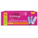 Absorvente Intimus Interno Super Leve 16 Pague 15