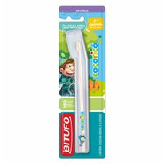 Escova Dental Infantil Bitufo Cocorico 1dent 4-24m