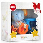 Kit Nuk Plush Toys Pelucia + Copo My First Azul Arthur