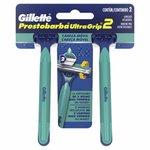 Aparelho De Barbear Gillette Prestobarba Ultragrip Move C/ 2