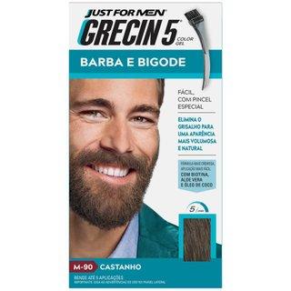 Tintura Grecin Barba/bigode Castanho
