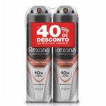 Kit Desodorante Men Aerosol Antibact Com 2 Unidades De 90g Com Desconto De 50% Na Segunda Unidade