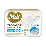 Lencol Absorvente Descartavel Mili C/5