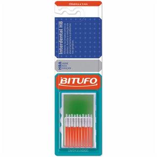 Escova Interdental Bitufo Hba Cilindrica 3mm