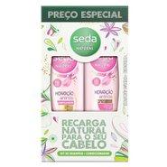 Kit Seda Hidratação Antinos Shampoo + Condicionador 325ml