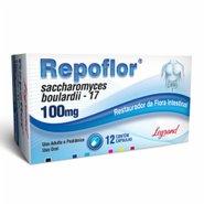 Repoflor 100mg 12 Cápsulas Gelatinosas Duras