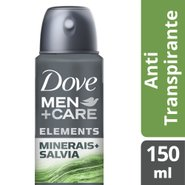 Desodorante Aerosol Dove Men+care Minerais + Sálvia 150ml