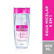 Água Micelar L'oréal Solução De Limpeza Facial 5 Em 1 400ml