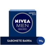 Sabonete Em Barra Nivea Men Original 3 Em 1 90g