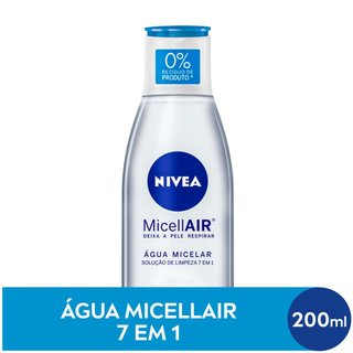 Água Micelar Solução De Limpeza 7 Em 1 Nivea 200ml