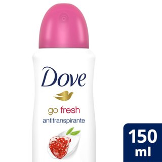 Desodorante Aerosol Dove Go Fresh Romã E Verbena 150ml