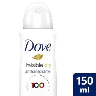 Desodorante Dove Aerosol Invisible Dry150ml