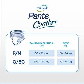 Roupa Íntima Tena Pants Confort P/m 8 Unidades