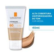 Protetor Solar Facial La Roche Posay Anthelios Alta Cobertura Fps60 Cor Média 40ml